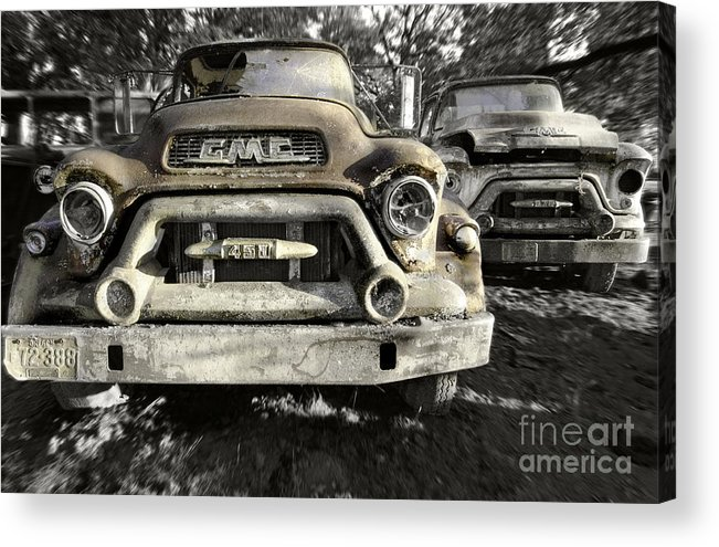 Gmc Trucks Acrylic Print featuring the photograph Run Gmc by Kevin Felts