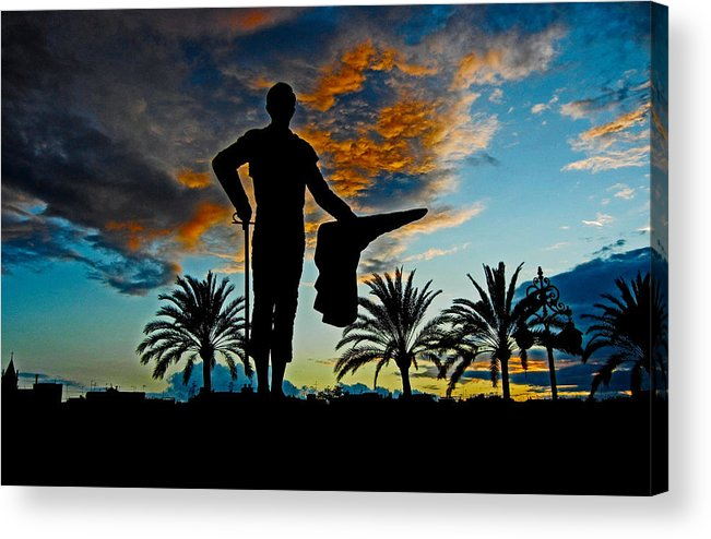 Europe Acrylic Print featuring the photograph Senor Pepe Luis Vazquez by Juergen Weiss