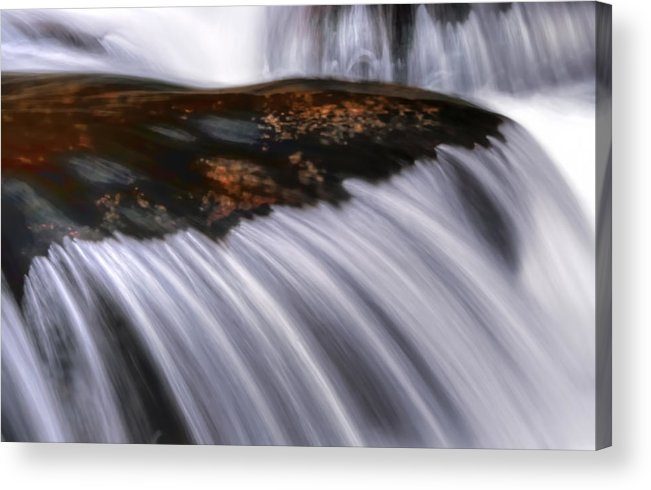 Water Acrylic Print featuring the photograph Smooth by Darren Fisher