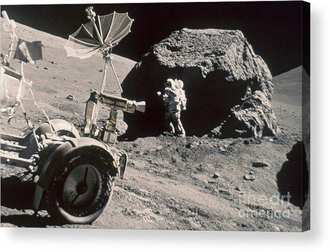 1972 Acrylic Print featuring the photograph Apollo 17, December 1972: by Granger