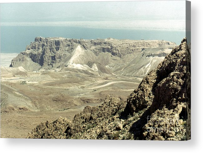 20th Century Acrylic Print featuring the photograph Holy Land: Masada by Granger
