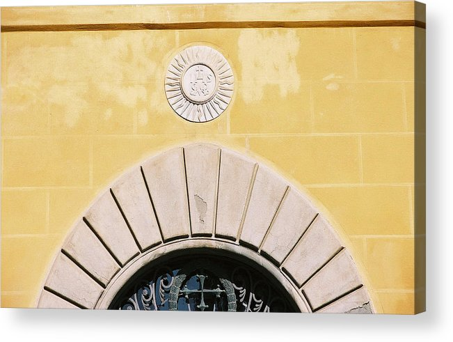 Yellow Acrylic Print featuring the photograph Untitled by Kathy Schumann