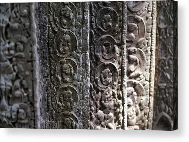 Angkor Acrylic Print featuring the photograph Angkor Layers by Marcus Best