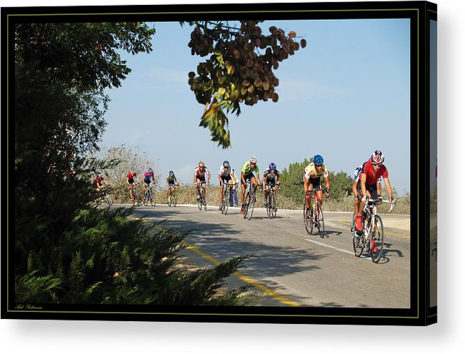 Bicycle Acrylic Print featuring the photograph Bicycle Race by Arik Baltinester