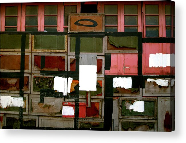 Jez C Self Acrylic Print featuring the photograph Boxed Scramble by Jez C Self