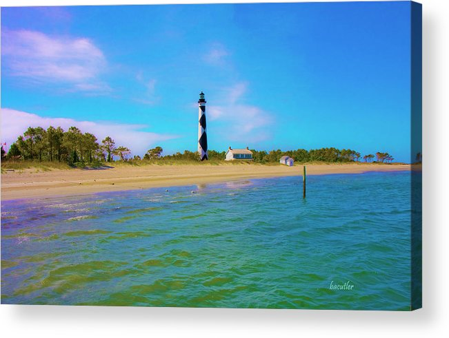 Harkers Island Acrylic Print featuring the photograph Cape Lookout 1 by Betsy Knapp