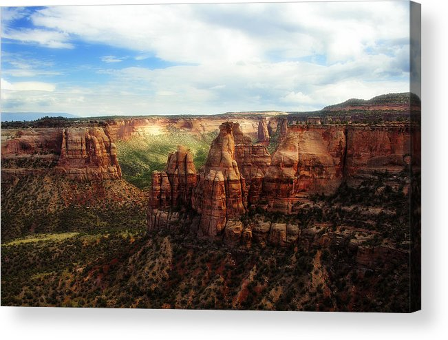 Americana Acrylic Print featuring the photograph Colorado National Monument by Marilyn Hunt