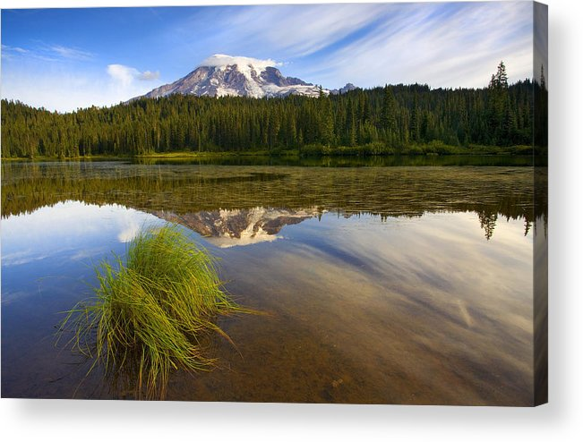 Lake Acrylic Print featuring the photograph Crystal Clear by Mike Dawson