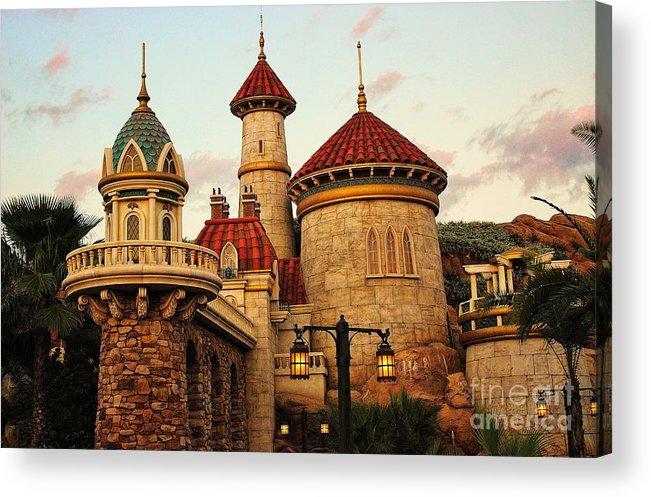 Disney Acrylic Print featuring the photograph Disney World by Paulette Thomas