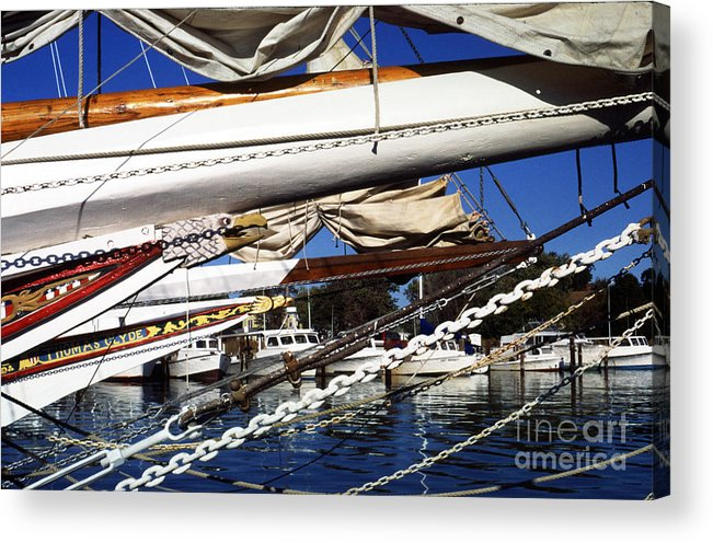 Skipjacks Acrylic Print featuring the photograph Dogwood Harbor by Thomas R Fletcher