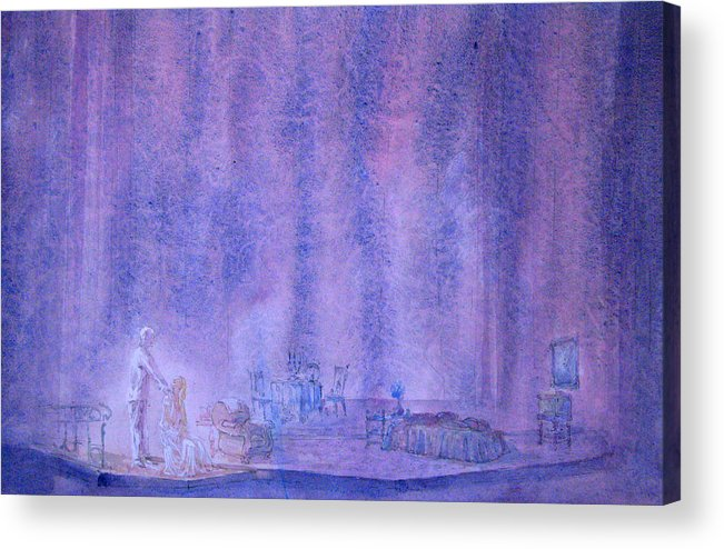 Scenery Acrylic Print featuring the painting Glass Menagerie by Terrell Gates