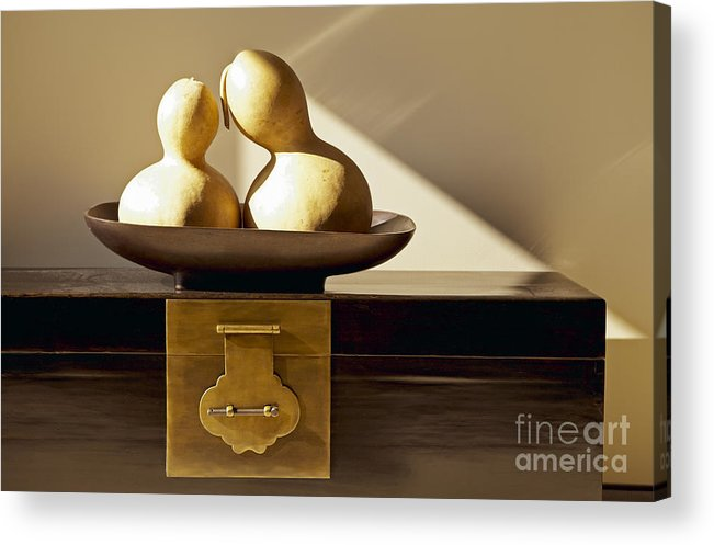 Art Acrylic Print featuring the photograph Gourds Still Life II by Kyle Rothenborg - Printscapes
