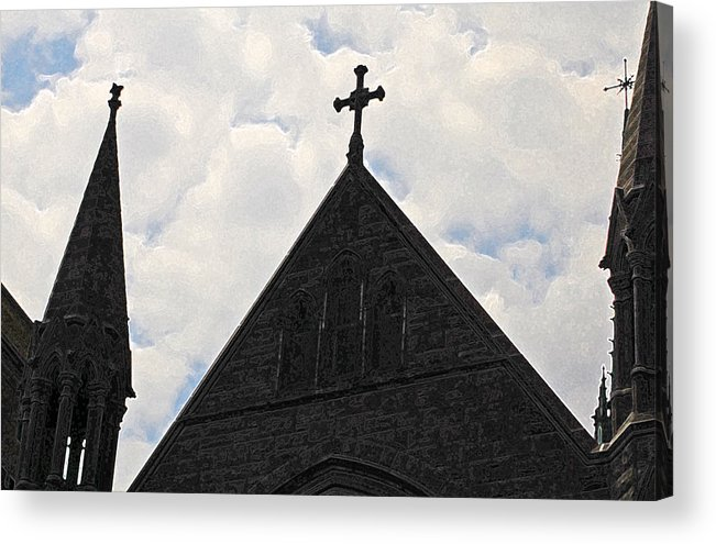 Holy Acrylic Print featuring the photograph Holy by Jean Booth