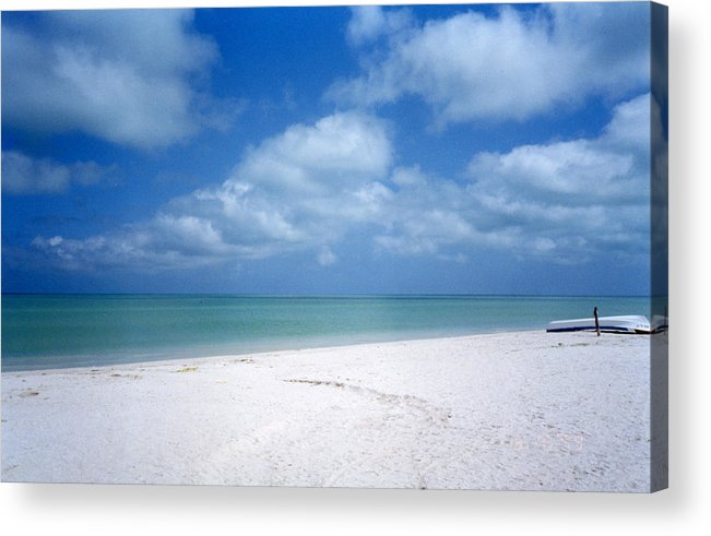Beach Acrylic Print featuring the photograph Mexican Beach by Jessica Wakefield