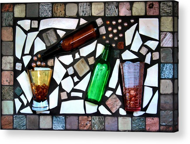 Mosaic Acrylic Print featuring the photograph Mosaic by Kristin Elmquist