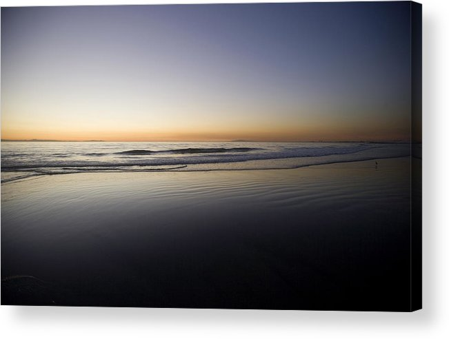Water Acrylic Print featuring the photograph Pacific Ocean Dusk by Brad Rickerby