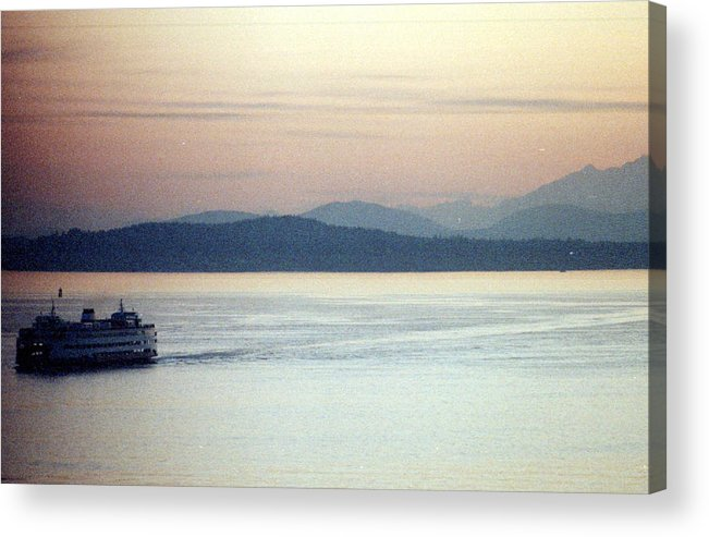 Pastel Acrylic Print featuring the photograph Pastel Water by Maro Kentros