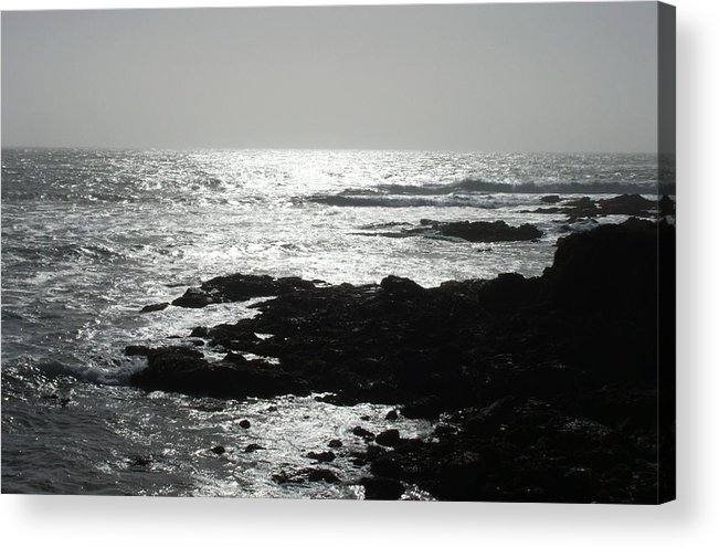 Beaches Acrylic Print featuring the photograph Peaceful by Shari Chavira