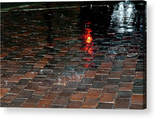 Rain Acrylic Print featuring the photograph Rain by Luca Renoldi