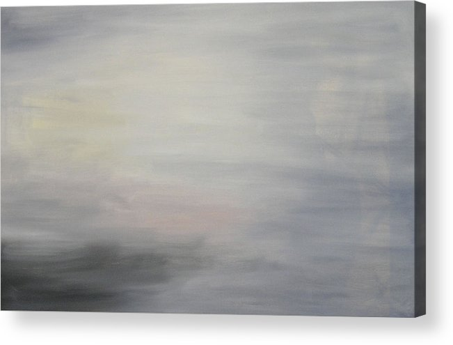 Clouds Sky Acrylic Print featuring the painting Special Clouds by Harris Gulko