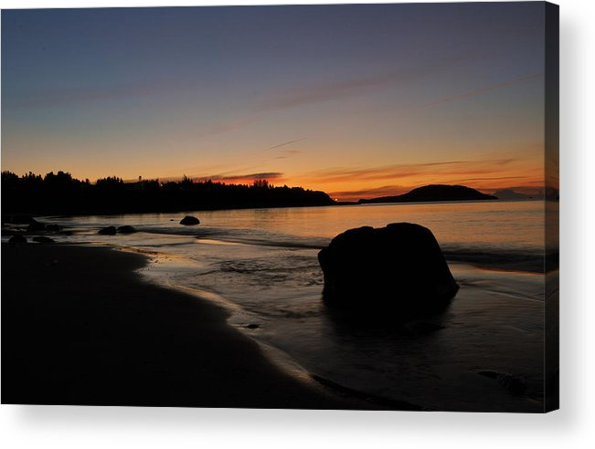 Sunrise Acrylic Print featuring the photograph Sunrise At Ingonish by Gregory Bland
