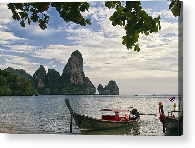 Thailand Acrylic Print featuring the photograph Thailand Evening by Robert Murray