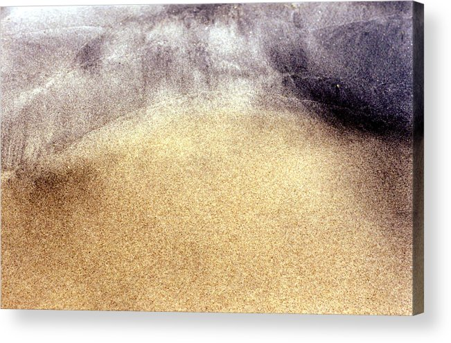 Sand Acrylic Print featuring the photograph Wet Sand 2 by Lyle Crump