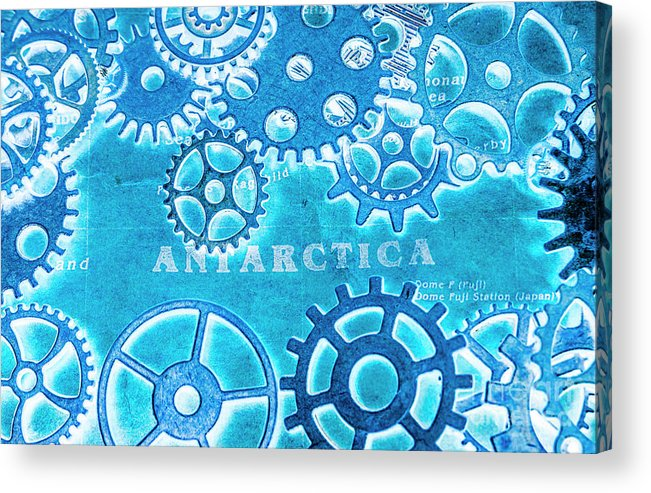 Antarctica Acrylic Print featuring the photograph Ancient Antarctic Technology by Jorgo Photography - Wall Art Gallery