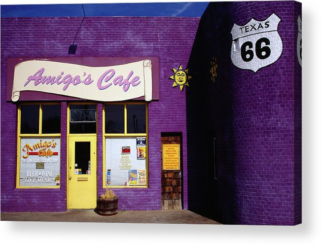 Route 66, Cafe Front 6th Avenue Acrylic Print