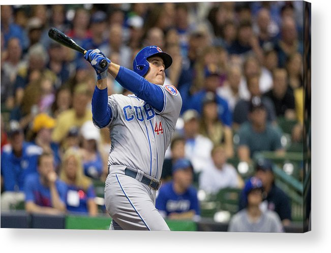 People Acrylic Print featuring the photograph Anthony Rizzo by Tom Lynn