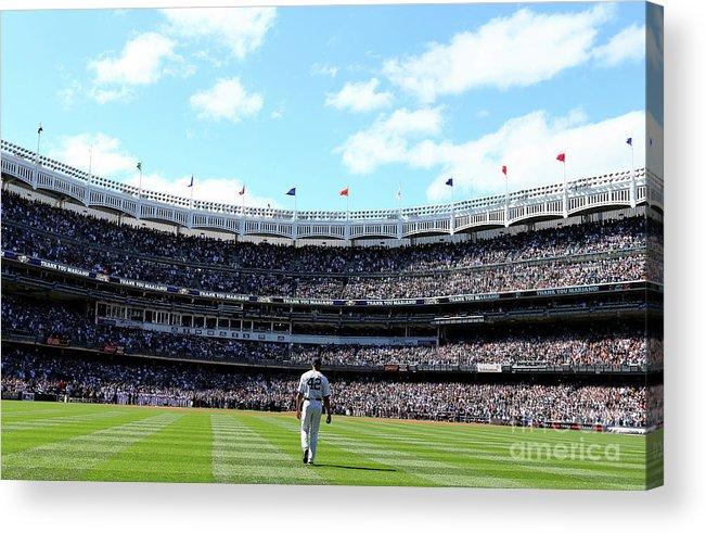 American League Baseball Acrylic Print featuring the photograph Mariano Rivera by Elsa