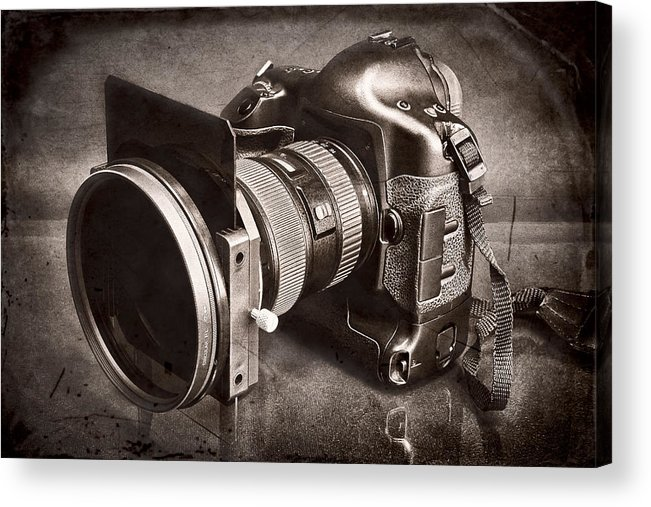 Fineart Acrylic Print featuring the photograph A Trusted Partner by Jeff Burton