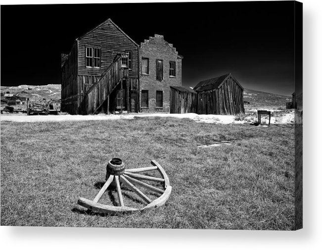 Bodie Acrylic Print featuring the photograph Bodie by Cat Connor