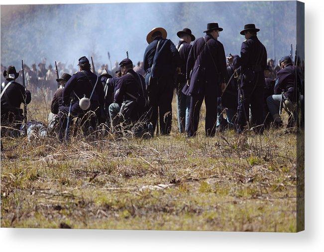 Civil Acrylic Print featuring the photograph Civil War by Kitty Ellis