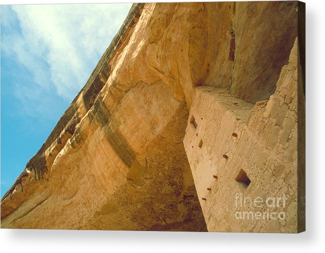 Mesa Acrylic Print featuring the photograph Cliff Palace Tower by Jerry McElroy