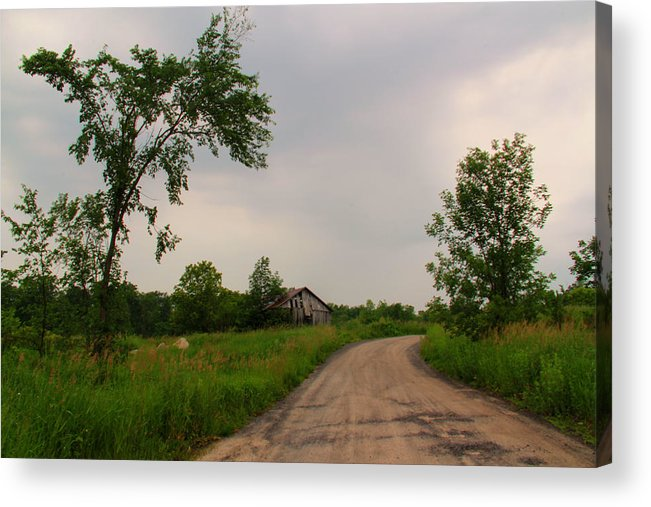 Landscape Acrylic Print featuring the photograph Country Road by Jim Vance