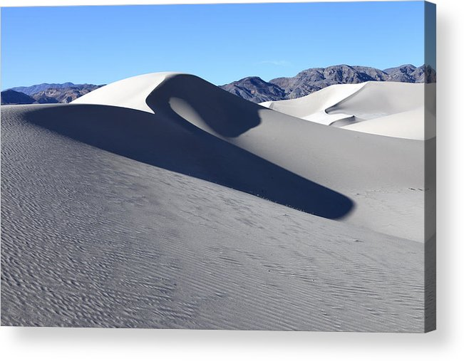 Sand Acrylic Print featuring the photograph Eureka Dunes by Rick Pisio