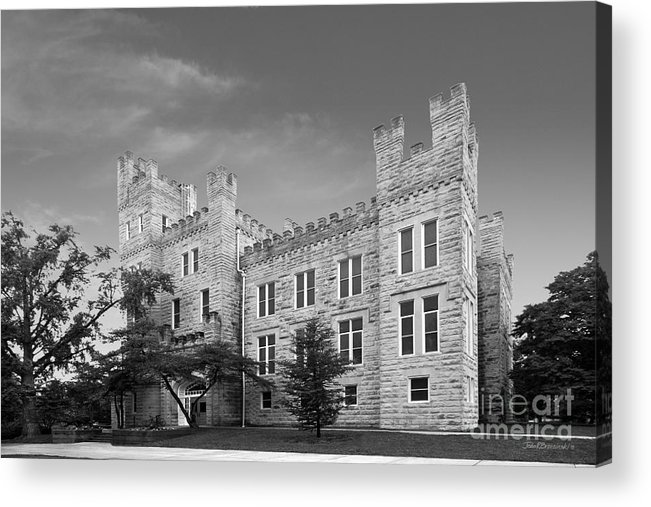 Altgeld Acrylic Print featuring the photograph Illinois State University Cook Hall by University Icons