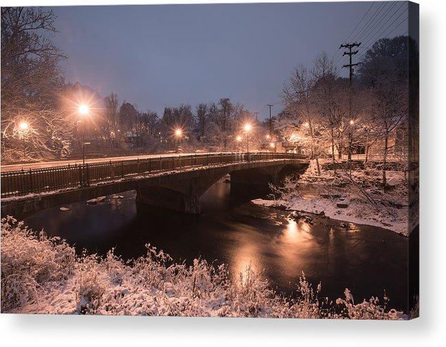 Acrylic Print featuring the photograph Main Street Bridge by Dana Sohr