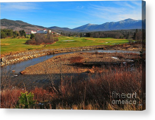 The Mount Washington Hotel Acrylic Print featuring the photograph Mount Washington by Catherine Reusch Daley