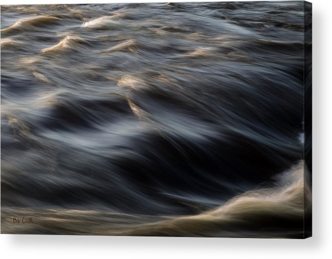 Water Acrylic Print featuring the photograph River Flow by Bob Orsillo