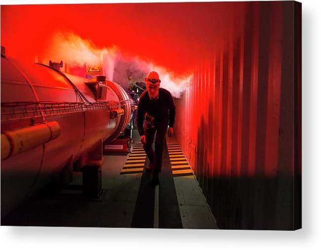 Equipment Acrylic Print featuring the photograph Safety Training At Cern by Cern