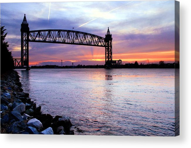 Cape Cod Acrylic Print featuring the photograph Under The Bridge by MPG Artworks