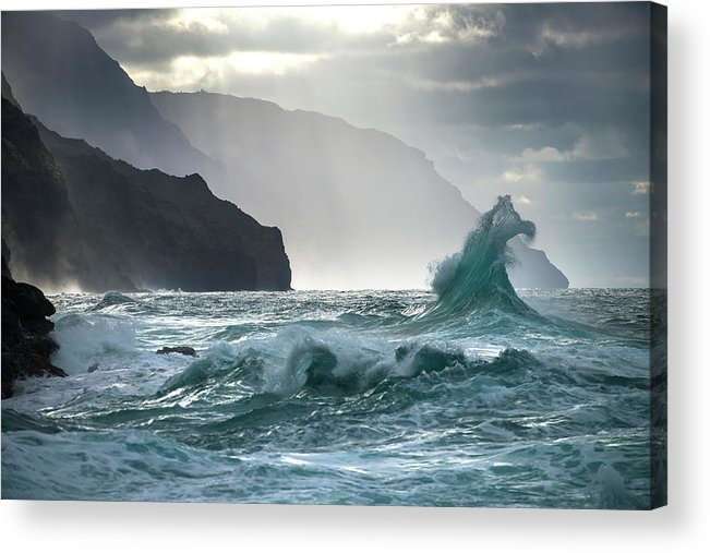 Coast Acrylic Print featuring the photograph Untitled by Ali Rismanchi