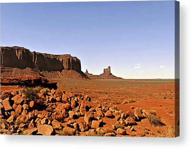 Monument Acrylic Print featuring the photograph Utah's Iconic Monument Valley by Christine Till
