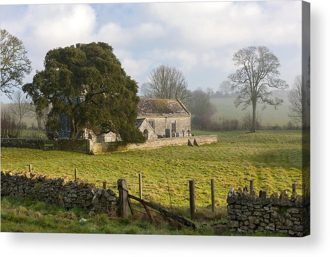 12th Acrylic Print featuring the photograph Whitcombe Church by Sebastian Wasek