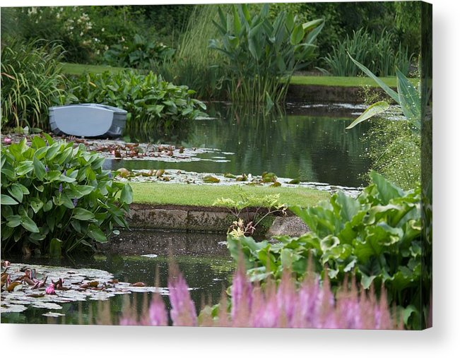 Beth Chatto Acrylic Print featuring the photograph Beth Chatto Gardens by Sean Foreman