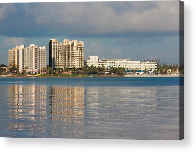 Atlantic Acrylic Print featuring the photograph Bahamas, New Providence Island, Nassau by Walter Bibikow