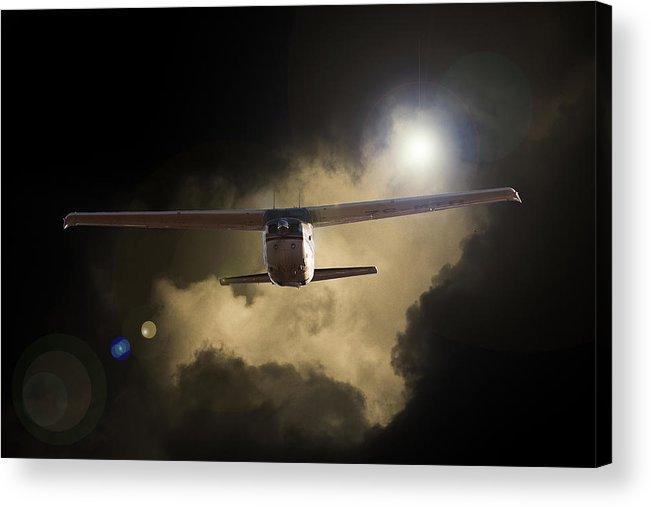 Cessna 172 Skyhawk Acrylic Print featuring the photograph 172 by Paul Job