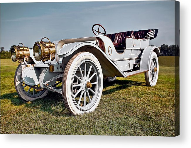 Transportation Acrylic Print featuring the photograph 1910 Franklin Type H Touring by Marcia Colelli